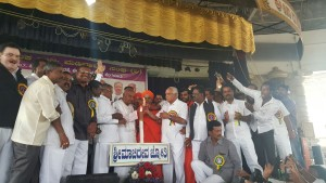 Participated in Sri Madivala Machidevara Jayanthothsava at Kudalasangama