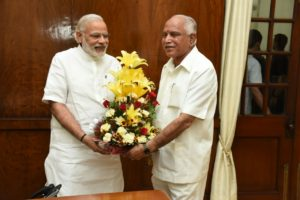 Met Hon'ble Prime Minister Shri Narendra Modi ji today and requested for maximum drought aid to our State.
