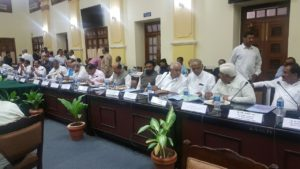 Attended All Party Meeting at Vidhana Soudha regarding Cauvery Issue