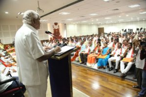 BSY Inaugurated State Executive Committee meeting of the BJP SC Morcha today at Bengaluru