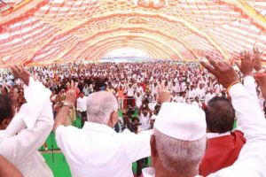 OBC morcha meeting in Yadgir